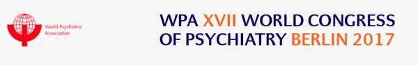 WPA XVII World Congress of Psychiatry   8 – 12 Ottobre 2017   Berlin